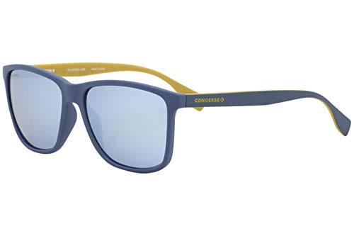 Converse SCO050 SCO / 050 7A5A azul mate polarizadas gafas de sol rectángulo de 58 mm hombre Mate azul/amarillo Lente-Puente-58 16 Temple-145