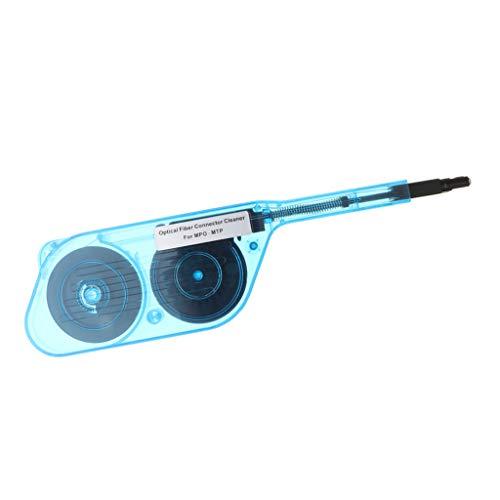 Homyl 1 Stücke Fiber Optic Ende Kassette Reiniger Reinigungsband für MPO MTP Stecker Klar Blau