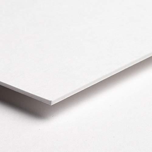 AlphaUVplus Rückwand Karton weiß 1,4mm stark - DIN A2-10 Stück - säurefrei