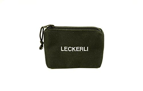 ANDREAS WIPPER Mit Wunschname möglich. Leckerlibörse, Futterbeutel, Leckerlibeutel, Futtertasche für Hunde, Leckerlitasche Pocket Black Edition