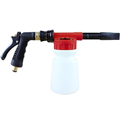 Magent Boquilla de Espuma - Pistola de Espuma para Limpiadoras a Presión Lanza de Espuma Ajustable para Lavadora de Coche