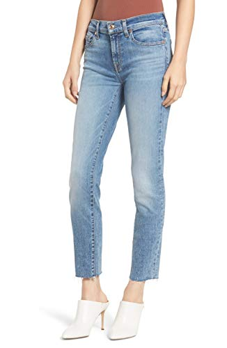 7 For All Mankind | Roxanne Ankle Skinny Jeans | Blue | 27