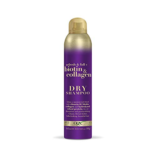OGX Biotin and Collagen Dry Shampoo, 165ml
