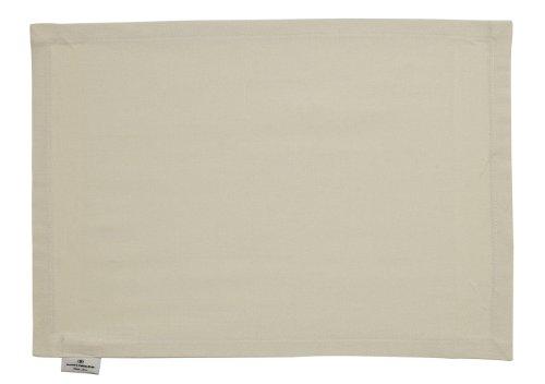 Tom Tailor 580700 Lot de 6 sets de table T-Dove Crème 35 x 50 cm