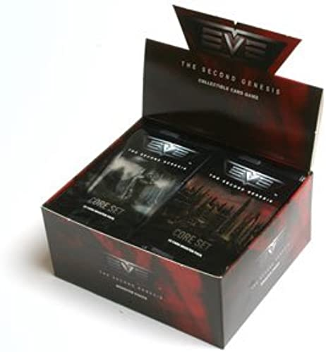EVE The Second Genesis CCG Collectible Booster Card Packs - 24 Pk Display