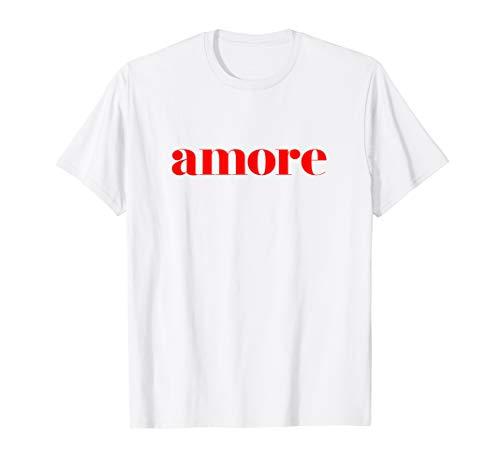 Amore - Cute Italian T-Shirt