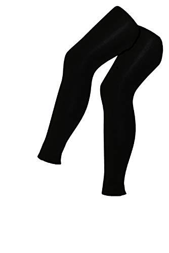 Tobeni 2 dames thermo-leggings binnenfleece lang voor sport en vrije tijd
