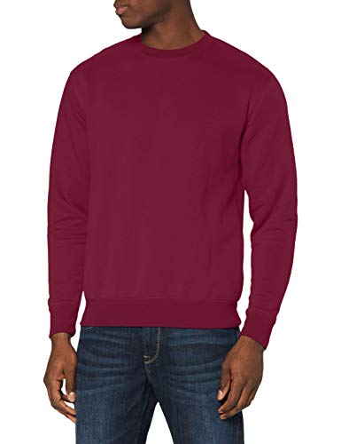 Fruit of the Loom Herren SS105M Sweatshirt, Rot-Red (Burgandy), S