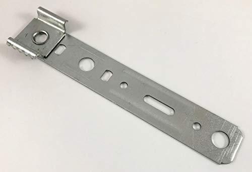 25x verzinkte Montageanker Eindrehanker Hessenkralle für Kunststofffenster