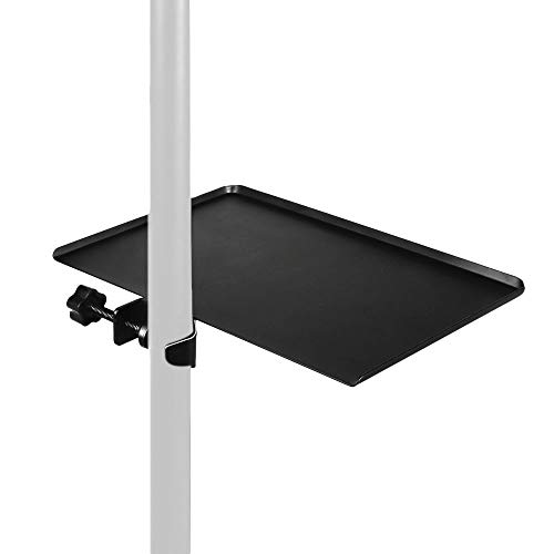 Mr.Power Universal Sound Card Tray Live Broadcast Microphone Mic Rack Stand Phone Clip Holder Black Music Sheet (Tray)