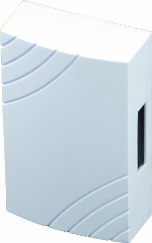 SCS SEN4138456 Elektromechanische Türklingel, kabelgebunden, mit eingebautem Transformator, Weiß