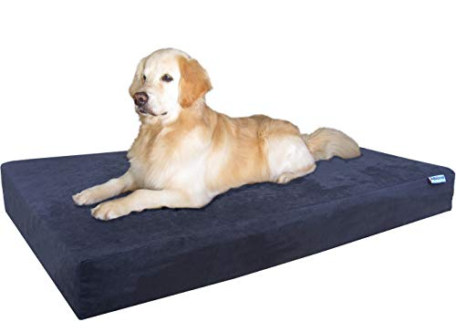 Dogbed4less Orthopedic Gel Infused Memory Foam Dog Bed