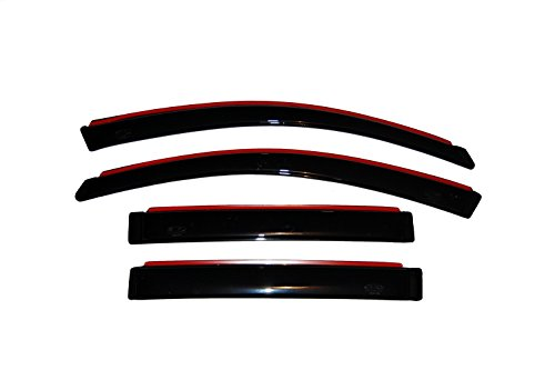 Auto Ventshade 194837 In-Channel Ventvisor Side Window Deflector, 4-Piece Set for 2004-2008 Chrysler Pacifica
