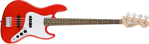 Squier Affinity J Bass Guitar - Racing Red