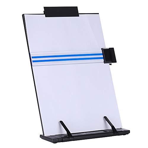 KLOUD CityBlack metal desktop document book holder with 7 adjustable positions