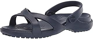 Crocs Women's Meleen Cross Band Sandal | Sandals for Women | Water Shoes