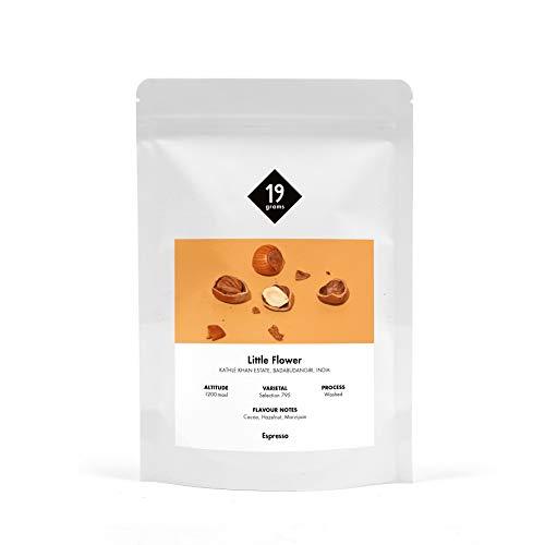 19grams Kaffeerösterei | 250g | Indien Little Flower Espresso | 250g x ganze Bohnen | frisch geröstet | 100% Arabica Kaffeebohnen | specialty coffee