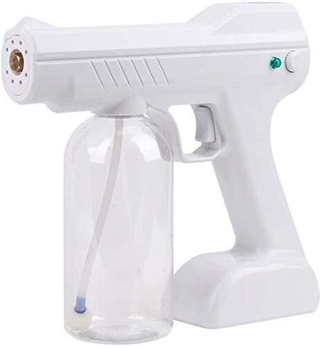 DAGCOT Electric Spray Machine,Electrostatic Sprayer,Disinfection Blue Light Nano Steam Gun USB Automatic Atomization Portable Steam Atomizing Sprays Home Office