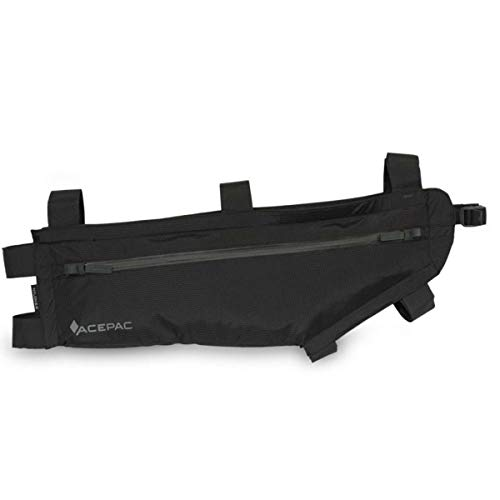 Acepac Zip Rahmentasche L Black 2020 Fahrradtasche