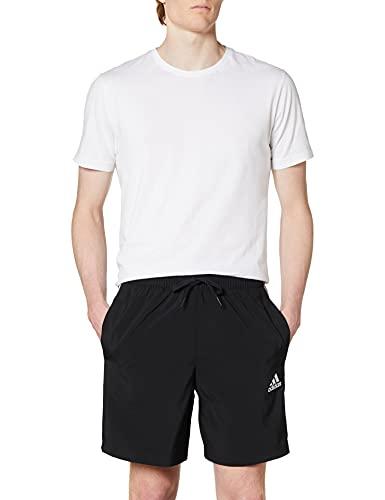 adidas Essentials Chelsea 3-Streifen Shorts Black/White L