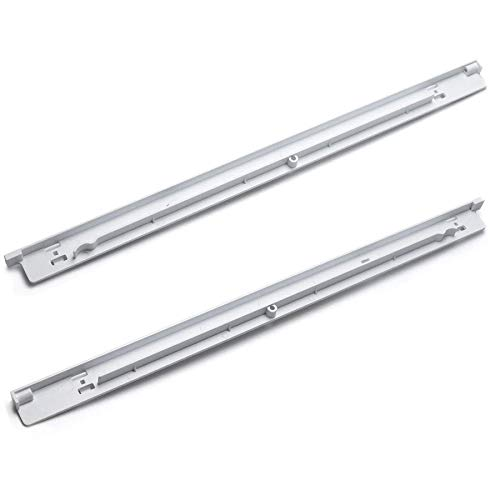 Romalon 240530601 & 240530701 Pan Hangers (Left & Right) Replacement Parts for Frigidaire Refrigerator Drawer Slide Support Rail - Replaces AP2116589 PS430916 AP2116590 PS430917