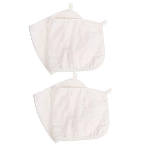 TOYANDONA 4 Piezas de Paños para Eructos para Bebés Trapos para Eructar para Recién Nacidos Paños de Muselina Paños para Recién Nacidos Paños para Lavar La Leche Trapos para Lactancia