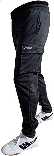 Otomix Men's Cargo Jogger Workout Pants (Black) (X-Large)