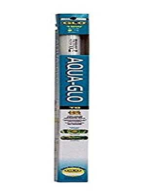 Aqua-GLO T8 Fluorescent Aquarium Bulb, 20 W