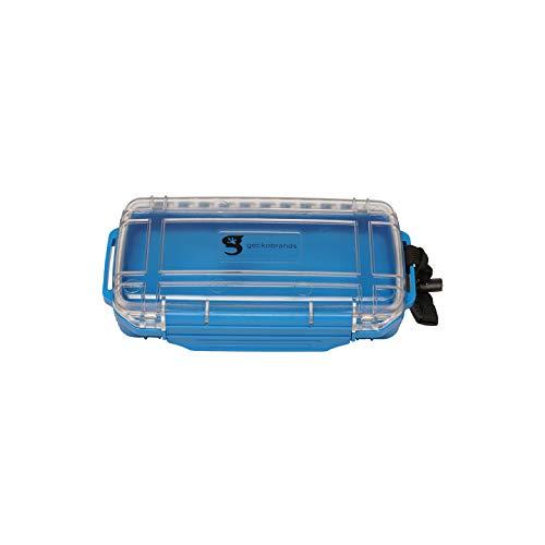 geckobrands Waterproof Dry Box - Medium, Neon Blue
