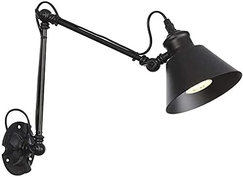 Wall Lamp Simple and Cool Reading Max 61% OFF Vintage Light Spotl Spasm price