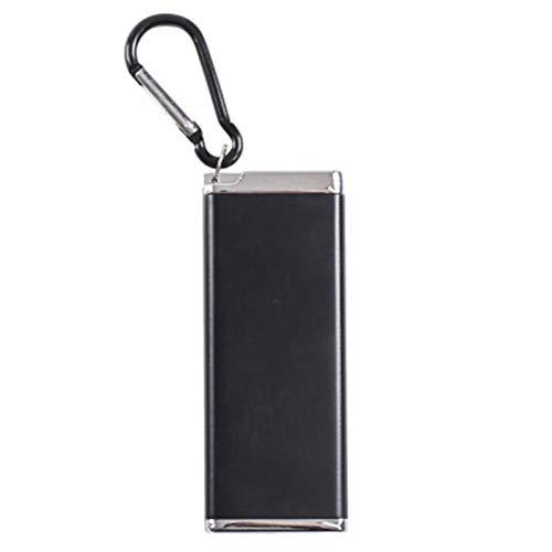 ZQND Portable 8-piece Cigarette Case Mini Small Portable Wear-resistant Ashtray Bag Outdoor Sweat-proof Moisture-proof Cigarette Case