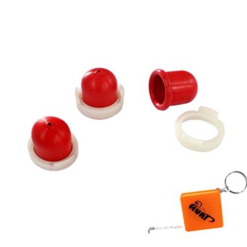HURI 3x Primer passend für Briggs & Stratton 694395 496115 Quantum 5 PS, 5,5 PS und 6 PS Benzinpumpe Pumpe Wolf 2057 181
