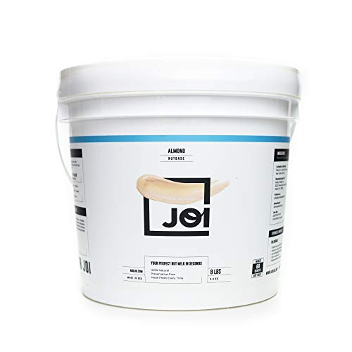 Almond Milk Concentrate by JOI   Make Your Own Fresh Almond Milk   Whole30 Approved; Just One Ingredient   Unsweetened without Gums or Emulsifiers   Vegan, Keto, Paleo Friendly   128oz   Makes up to 60 qts