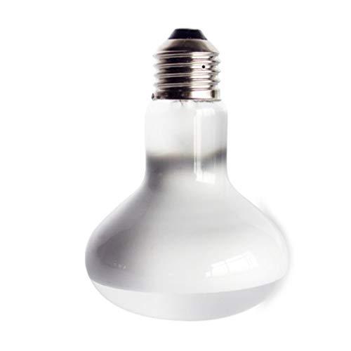 aixu 220V UVA + Uvb Bombilla De Lámpara De Reptil Tortuga Tomando El Sol Bombillas De Luz UV Lámpara De Calefacción Blanco 60W