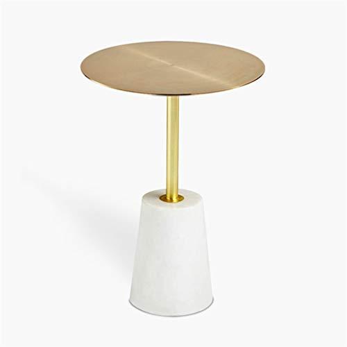 KGDC Tavolini Bassi Moderno Accent End Side End Table Industrial Style Cement Ferro Side Table Style Soggiorno Balcone Piccolo Tavolo Rotondo, 15.7'× 21,7' Tavolini da Caffé (Color : B)