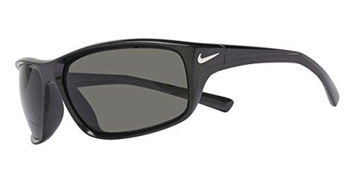 Nike Golf Adrenaline Sunglasses, Mercury Grey/Silver Frame, Grey Lens