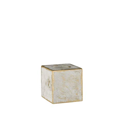 WOFI 8213.01.50.7100 Lampe de table, Métal, E27, 10 W, Gris, 9.8000000000000007 x 9.8000000000000007 x 9.8000000000000007 cm