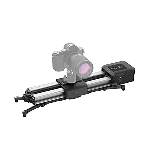 ZEAPON Micro 2 Camera Slider Rail with Liquid Damping Handle for All DSLR Mirrorless Camera 13 inch Rail Length 21 inch Travel Distance 17.6 lbs Payload