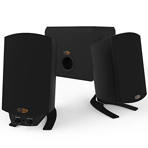 Klipsch ProMedia 2.1 THX Computer Speakers (2019 update)  $90 at Amazon