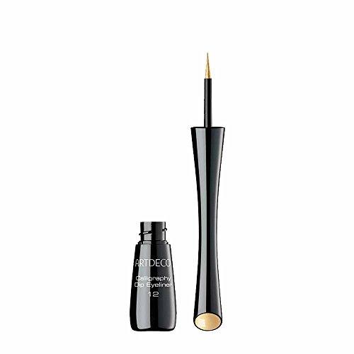 Artdeco Calligraphy Dip Eyeliner 12, Gold, 2.5 ml