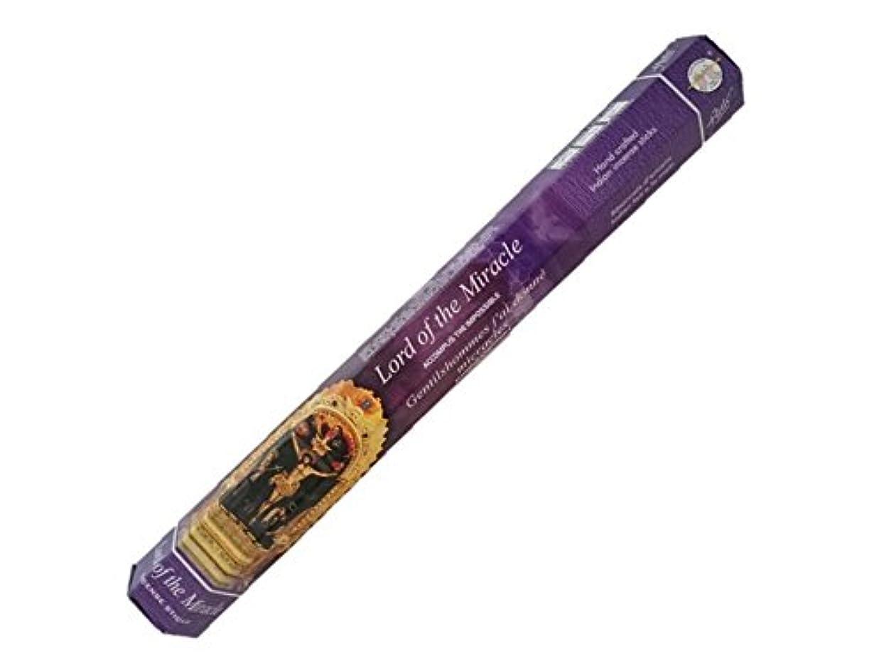 ルネッサンス維持凝視flute(フルート)お香:ロード?オブ?ザ?ミラクル スティックお香/インセンス/1箱