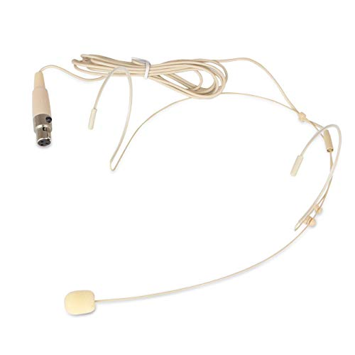 Depusheng Dual Ear Hook Mic Headworn Headset Head Microphone for All XLR 3PIN TA3F