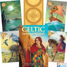 The Celtic Divination Trio: The Celtic Lenormand, The Blessed Be Cards, and The Celtic Tree Oracle. All Three Decks in One Set.