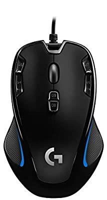 Logitech G300S Optical Gaming Mouse - Black