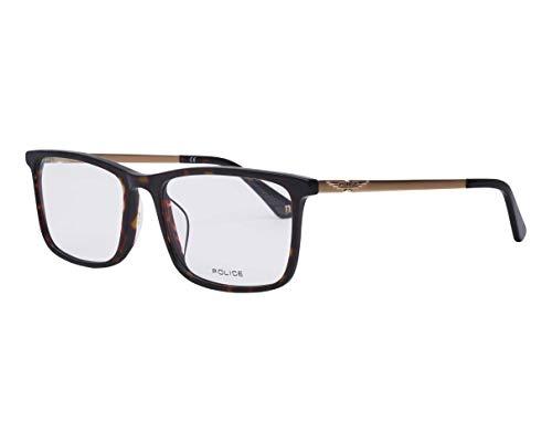 Police Origins 32 (VPL-B-75 0786) - Gafas de sol (acetato, plástico y metal), color dorado oscuro