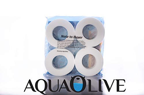 AquaOlive 4 Pack Climbing Wheels/Rings- Compatible with Dolphin Robotic Pool Cleaners. Non OEM Aftermarket Part. Fits All Models. Replaces Part #: 6101611.