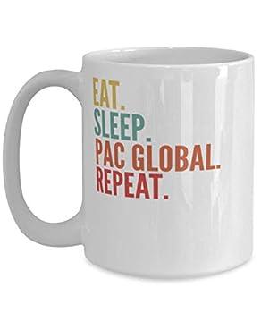 Pac Global Crypto Eat Sleep Pac Global Repeat Mug 15oz white