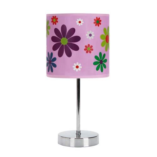 Lampe für Kinder Tischlampe Nachttischlampe Schreibtischlampe Wohnzimmerlampe NUKA E14 PINK IDEUS Strühm 6515