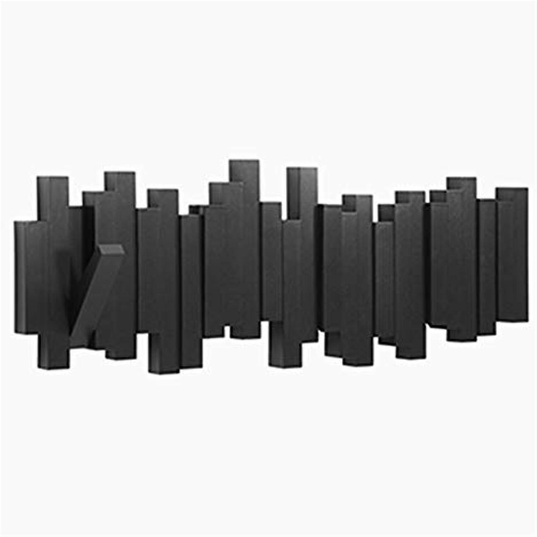 WYQSZ Coat Rack - Creative Doorway Wall Coat Rack Fashion Porch Key Hook Coat Rack - Coat Rack 8563 (color   B)