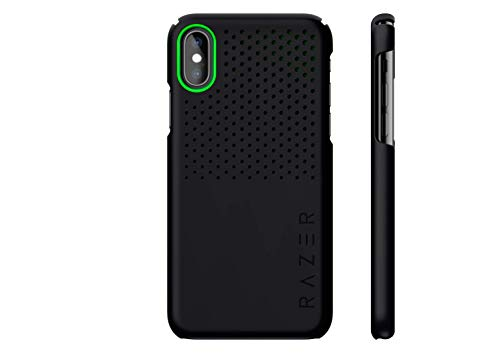 Razer Arctech Slim for iPhone Xs Max Case: Thermaphene & Venting Performance Cooling - Wireless Charging Compatible - Matte Black